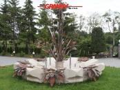 Elementy specjalne - fontanna z piaskowca