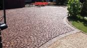 Antik Pflastersteine / Antikpflaster - Granit-Pflastersteine, Granit-Würfel, rot (Vanga - ein importiertes, schwedisches Material) - Foto von unseren Kunden, Pflastersteine aus Polen, Pflastersteine aus Schweden, Naturstein aus Polen