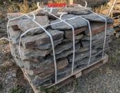 Łupek szarogłazowy - kamień ścieżkowy
