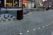 Referenzobjekte aus Naturstein... Granit-Platten, Granit-Gehwegplatten, Granit-Pflastersteine, Granit-Bordsteine, Granit-Treppen, Sonderanfertigungen aus Naturstein, Naturstein aus Polen, frostbeständiger Granit aus Schlesien