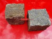 Granit-Pflastersteine (Feinkorn), NASSE Granit-Pflastersteine MELANGEMISCHUNG (eine bunte Mischung aus feinkörnigen Granit-Pflastersteinen GRAU-GELB) Granit-Pflastersteine aus Polen