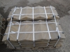 Sandstein-Elemente (Abdeckplatten aus Sandstein, grau-gelb, gesägt)