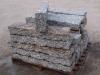 Granit-Randsteine 10x20x60-120 cm (Toleranzgrenze ±2 cm), grau-gelb (zur Zeit nicht erhältlich), Mittelkorn, allseitig gespalten