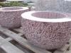 Sonderanfertigung aus Naturstein (ein importiertes, schwedisches Material - VANGA, roter Granit)
