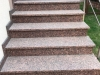Treppen aus Granit (Sonderanfertigung) - ein importiertes, schwedisches Material - VANGA, roter Granit