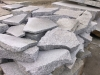 Unregelmäßige Granit-Gartenplatten (grau, feinkörnig)