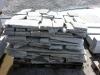 Unregelmäßige Granit-Fassadenplatten für den Garten (grau, feinkörnig)
