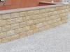 Sandstein-Verblendsteine (grau-gelb)