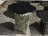 Möbel (Gartenmöbel) aus Serpentin - Serpentinit