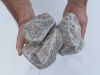 Ziersteine / Gerundete (getrommelte) Steine aus Kalkstein (nass) für Gabionen