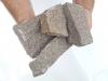 Kamień łamany z granitu Bohus (suchy) do gabionów