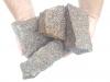 Ziersteine / Eckige Steine aus Granit, Bohus (nass) für Gabionen