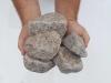 Kamień otoczony z granitu Bohus (suchy) do gabionów