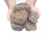 Ziersteine / Gerundete (getrommelte) Steine aus Granit, Bohus (nass) für Gabionen