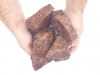 Kamień łamany z granitu Vanga (mokry) do gabionów