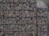 Gabionen Mauer/ Mauer aus Gabionen, Ziersteine / Eckige Steine aus Kalkstein für Gabionen (Natursteine aus Polen), Natursteinmauer, Gabionenzaun, Gabionenmauer, Naturstein für Gabionen, Naturstein aus Polen, Polengranit, schwedische Natursteine, Schroppen