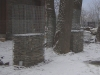 Schiefer für Gabionen - Gabionen Mauer/ Mauer aus Gabionen, Frostbeständige Natursteine (Schiefer) aus Polen für Gabionen… (Natursteine aus Polen), Natursteinmauer, Gabionenzaun, Gabionenmauer, Naturstein für Gabionen, Naturstein aus Polen, Polengranit