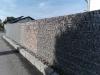 Gneis für Gabionen - Gabionenwand, Gabionen Mauer/ Mauer aus Gabionen, Ziersteine / Gneis 32-63 mm für Gabionenkörbe (Natursteine aus Polen), Natursteinmauer, Gabionenzaun, Gabionenmauer, Naturstein für Gabionen, Naturstein aus Polen, Polengranit, schwedische Natursteine - Foto von unseren Kunden