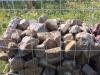 Ziersteine / Gemischte Natursteine für Gabionenkörbe (Beispiel), Natursteinmauer, Gabionenzaun, Gabionenmauer, Naturstein für Gabionen, Naturstein aus Polen, Polengranit