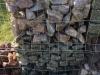 Kamień w gabionach (przykład)