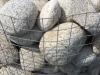Gabionen Mauer/ Mauer aus Gabionen, Natursteinmauer / Gabionensteine, Natursteinmauer, Gabionenzaun, Gabionenmauer, Naturstein für Gabionen, Naturstein aus Polen, Polengranit, schwedische Natursteine