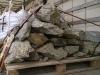 Gartensteine aus Gneis (Gneis-Gartensteine, NATURBELASSEN) s.g. 'Stifte' - Naturstein aus Polen