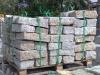 Granit-Mauersteine / Naturstein-Mauer / Granit-Mauer (grau-gelb, Mittelkorn)..., Granit-Mauersteine aus Polen, Mauersteine für eine Natursteinmauer, Polengranit