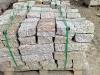 Kamień murowy z granitu (szaro-zółty, średnie ziarno)
