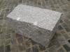 Kamień murowy z granitu, szary, drobne ziarno