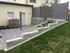 Granit-Mauersteine / Naturstein-Mauer / Granit-Mauer / Wasserbausteine, grau, Mittelkorn, gesägt-gespalten (Granit-Mauersteine aus Polen) - Foto von unseren Kunden, Mauersteine für eine Natursteinmauer, Polengranit, preisgünstige Mauersteine und Wasserbausteine