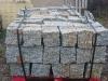 Granit-Mauersteine / Naturstein-Mauer / Granit-Mauer, grau-gelb, Mittelkorn, allseitig gespalten (Granit-Mauersteine aus Polen), Mauersteine für eine Natursteinmauer, Polengranit
