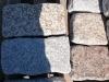 Granit-Mauersteine getrommelt zurzeit nicht erhältlich - Granit-Mauersteine / Naturstein-Mauer / Granit-Mauer grau-gelb, (rustikal, getrommelt, gerundet und ohne scharfe Kanten)..., Granit-Mauersteine aus Polen, Mauersteine für eine Natursteinmauer, Polengranit