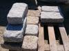 Granit-Mauersteine / Naturstein-Mauer / Granit-Mauer grau-gelb, (rustikal, getrommelt, gerundet und ohne scharfe Kanten)..., Granit-Mauersteine aus Polen, Mauersteine für eine Natursteinmauer, Polengranit