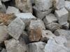 Piaskowiec szaro-żółty, kamień murowy nieregularny