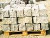 Granit-Mauersteine / Naturstein-Mauer / Granit-Mauer, Mittelkorn (Granit-Mauersteine aus Polen), Mauersteine für eine Natursteinmauer, Polengranit