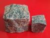Pflastersteine aus Gneis - Gneis-Würfel - trocken, allseitig gespalten (ein importiertes, schwedisches Material), Pflastersteine aus Polen, Pflastersteine aus Schweden, Naturstein aus Polen