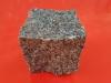 Granit-Pflastersteine, Granit-Würfel, pastell / grau (Flivik - ein importiertes, schwedisches Material) - nass, allseitig gespalten, Naturstein aus Schweden, Granit aus Schweden, Pflastersteine aus Polen, Pflastersteine aus Schweden, Naturstein aus Polen