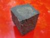 Kostka granitowa czarna (granit szwedzki), kostka w stanie suchym