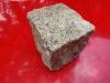 Granit-Pflastersteine (Feinkorn), trockene Granit-Pflastersteine – gelb/gelblich, Granit-Pflastersteine aus Polen