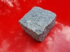 Granit-Pflastersteine (Feinkorn), nasse Granit-Pflastersteine – grau, Granit-Pflastersteine aus Polen