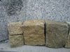 Kostka granitowa (żółta, drobnoziarnista), łupana, mrozoodporny polski granit