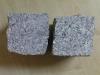 Kostka granitowa, średnie ziarno, cięto-łupana (przynajmniej jedna powierzchnia cięta), mrozoodporny polski granit