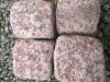 Kostka granitowa, otaczana (w stanie suchym), czerwona (Vanga - importowany mrozoodporny granit skandynawski),