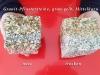 Granit-Pflastersteine, Granit-Würfel, Natursteinpflaster, allseitig gespalten, grau-gelb, Mittelkorn, nass und trocken (Pflastersteine aus polnischem Granit... Natursteine aus Polen), Pflastersteine aus Polen, Pflastersteine aus Schweden, Naturstein aus Polen