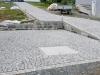 Kostka granitowa, szara, łupana (polski mrozoodporny granit)