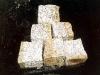Granit-Pflastersteine, Granit-Würfel, Natursteinpflaster, Polengranit, grau-gelb (s.g. 'Herbstlaub'), mittelkörnig, alle Seiten gespalten)..., Granit-Pflastersteine aus Polen, Naturstein aus Polen, Pflastersteine aus Polen, Pflastersteine aus Schweden, Naturstein aus Polen