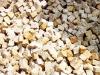 Granit-Pflastersteine, Granit-Würfel, Natursteinpflaster, Polengranit, grau-gelb (s.g. 'Herbstlaub'), mittelkörnig, alle Seiten gespalten (Granit-Pflastersteine aus Polen), Naturstein aus Polen, Pflastersteine aus Polen, Pflastersteine aus Schweden, Naturstein aus Polen