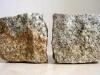 Kostka granitowa (szaro-ruda, średnioziarnista), łupana, mrozoodporny polski granit