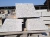 Granit-Bordsteine, grau, Mittelkorn (Granit aus Polen), Polengranit