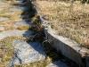 Łupek szarogłazowy - krawężnik ogrodowy z łupka